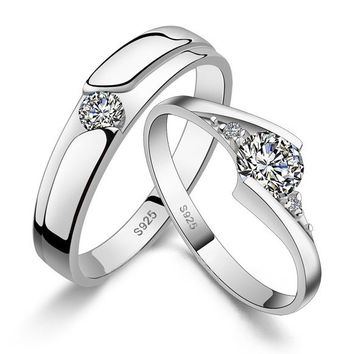Sterling Silver Engraved Wedding Bands Set for Men and Women Personalized Couples Jewelry | Occasions Uncommon Gifts | Unique Phone Cases | Worldwide Shipping