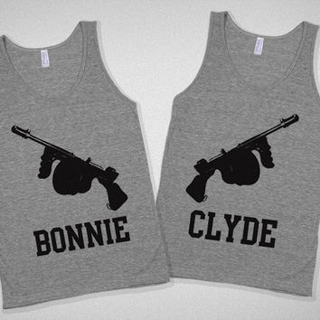 Bonnie & Clyde Partners in Crime tanks | Skreened.com