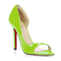 plus size 35-43 brand sexy high heel sandals women summer open toe cut-outs side hollow pumps lady party wedding dress sandalias