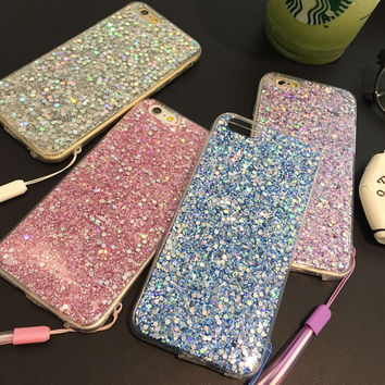 New Upgrade Twinkle iPhone 7 7Plus & iPhone 6s 6 Plus Case Best Gift + Gift Box