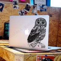 owl Decal for Macbook Pro, Air or Ipad Stickers Macbook Decals Apple Decal for Macbook Pro / Macbook Air 29102