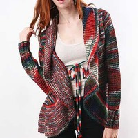 V Stitch Sweater - Colorful Sweaters at Pinkice.com