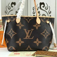 DCCK LV Louis Vuitton MONOGRAM CANVAS NEVERFULL HANDBAG TOTE BAG