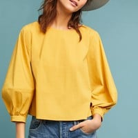 Siobhan Balloon-Sleeved Blouse