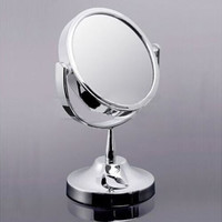 Makeup Cosmetic Mirror & Double-Sided Normal and Magnifying Stand Mirror 3C1