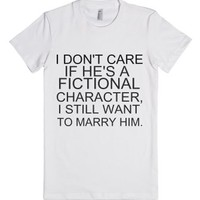 i STILL WANT TO MARRY HIM-Female White T-Shirt