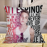 Matthew Espinosa on Square Pillow Cover