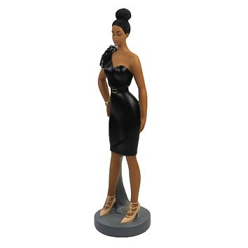 Black Art Fearless Figurine. Sister Friends Collection - FSF01