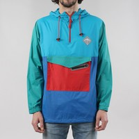 Buy All Good Venice Jacket - Blue/Red from Urban Industry | Urban Industry