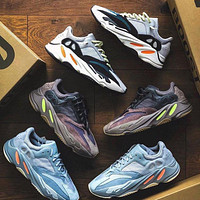 Adidas Yeezy Boost 700 V2 classic men and women all-match sneakers shoes-13
