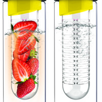 Yellow Flavour It Water Bottle 2-Pack