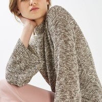 Textured Flute Sleeve Jumper - New In This Week - New In