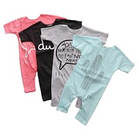 Baby Boy Clothes born Baby Jumpsuits Infant Girls Clothing Sets Baby Boy Rompers