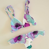 Beach New Arrival Swimsuit Summer Hot Ladies Swimwear Print Sexy Bikini [9622885519]