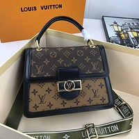 lv louis vuitton womens leather shoulder bag satchel tote bags crossbody 180