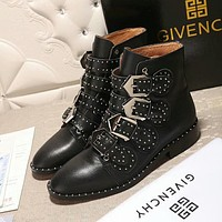 Givenchy Women Fashion Casual Punk Boots Shoes