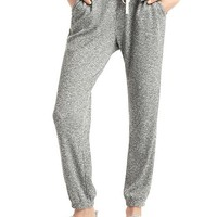 Softspun knit marled joggers | Gap