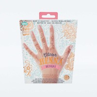 Natural Products Glitter Henna Designs - Urban Outfitters