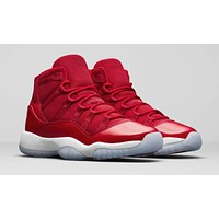 Nike Air Jordan 11 Retro Win Like 96 Men Basketball Shoes Sport Sneakers