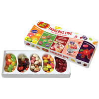 Jelly Belly Fabulous Five Jelly Beans Sampler: 4.25-Ounce Gift Box