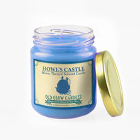 Howl's Moving Castle Inspired Natural Scented Candle - Studio Ghibli