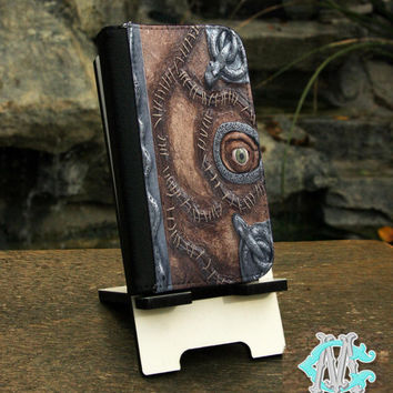 Samsung Galaxy S series and Note Phone Wallet Folio Case - FREE SHIPPING! Hocus Pocus Spell Book