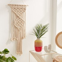 Macramé Rope Wall Hanging   Urban Outfitters