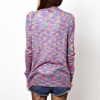 Ethnic Colorful Leisure Cardigan for Girls