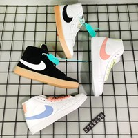 Nike Blazer Low Le classic little white skateboard casual shoes