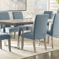 Cindy Crawford Home San Francisco Gray 5 Pc Dining Room - Dining Room Sets Colors