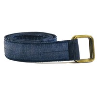 Blue Denim Belt by One Magnificent Beast Size L Available