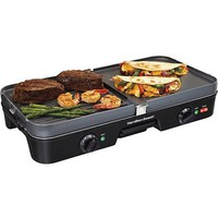 Hamilton Beach 3-in-1 Grill/Griddle | Model# 38546 - Walmart.com