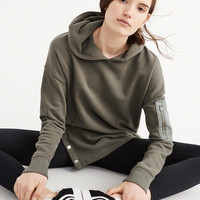 Womens Snap Button Hoodie | Womens New Arrivals | Abercrombie.com