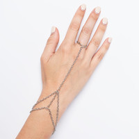 Full Tilt Layered Hand Harness Silver One Size For Women 26379014001