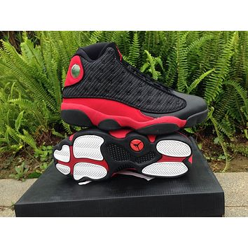 Air Jordan 13 Black/Infrared 23 Basketball Shoes 36-39