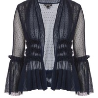 Dobby Tulle Jacket - Jackets & Coats - Clothing