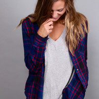 Take Me Out Plaid {Navy/Red}