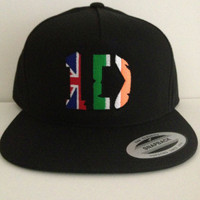 I LOVE 1D I love harry liam  zayn louis niall snapback hat uk band one size fits all