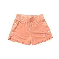 Nike Women's NSW Retro Femme Terry Cropped Crew Orange Shorts