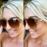 SUMMER SUN SAWAROVSKI CRYSTAL SUNGLASSES