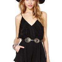 Nasty Gal Night Prowl Romper