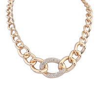 Gift New Arrival Stylish Shiny Jewelry Simple Design Necklace [4918879492]