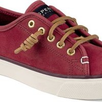 Sperry Top-Sider Seacoast Washable Sneaker Red, Size 9.5M  Women's Shoes