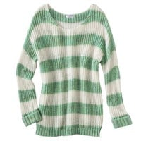 Xhilaration® Junior's Striped Sweater - Assorted Colors