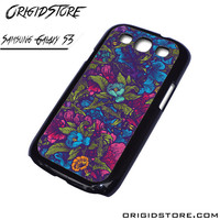 Floral Flower Purple Forest Case For Samsung Galaxy S3 Case