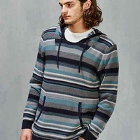 CPO Reverse Stripe Hooded Sweater