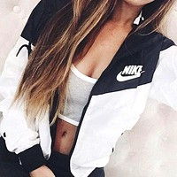 """NIKE"" Hoodies Zipper Cardigan Windbreaker Sweatshirt"