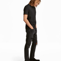 H&M Trashed Straight Jeans $49.99