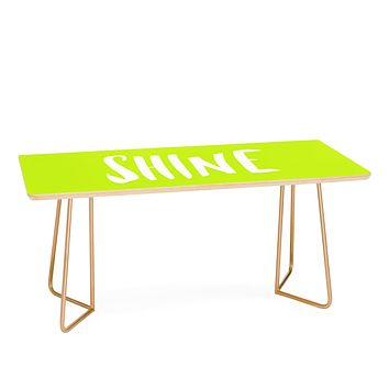 Leah Flores Shine Coffee Table