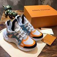 lv louis vuitton womans mens 2020 new fashion casual shoes sneaker sport running shoes 14